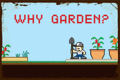 Al Gracian: 8-bit Why Garden?