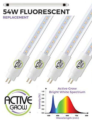 Active Grow T5 HO LED Grow Light Replacement Bulbs