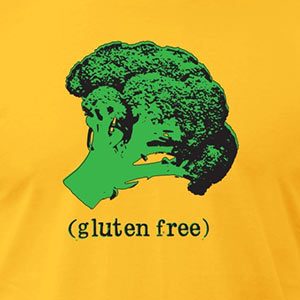 BROCCOLI (gluten free) [Gardening T-Shirt Design]