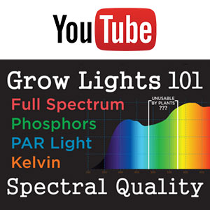 Grow Lights 101: Spectral Quality (Full Spectrum, Phosphors, PAR Light, Kelvin) -YouTube