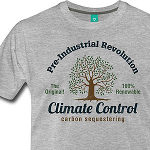 Pre-Industrial Revolution CLIMATE CONTROL [Gardening T-Shirt Design]
