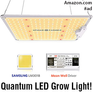 Spider Farmer SF-1000 LED Quantum Grow Light (100w)