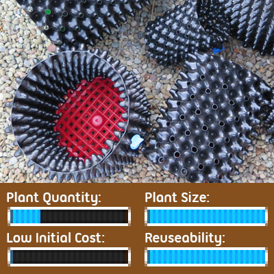 Seed Starting Options - Root Pruning Air-pot Containers