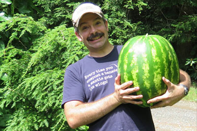 Al Gracian: Albopepper - Holding Massive Watermelon