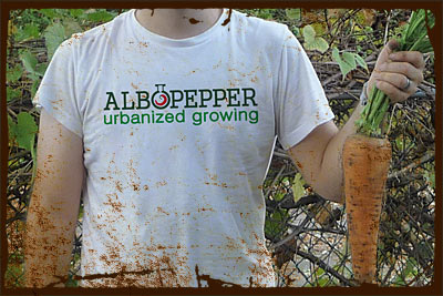 APPAREL - Albopepper Gardening Designs for T-shirts