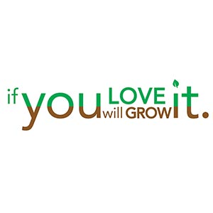 if you LOVE it you will GROW it. [Gardening T-Shirt Design]