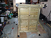Albo-grow Sub-irrigated Garden Box - Bottom is supported by 2x4 boards