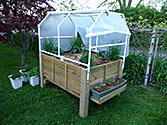 Albo-grow Box (2011) - PVC frame creates mini greenhouse