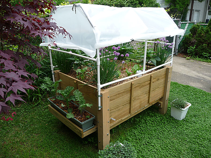 Albo Grow Box (2011)   Protect From Frost With Plastic Cover Photo