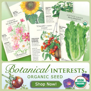 Botanical Interests Garden Organic Seed Packets