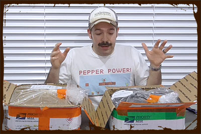 Al Gracian: Albopepper Unboxing Gardening Product Reviews